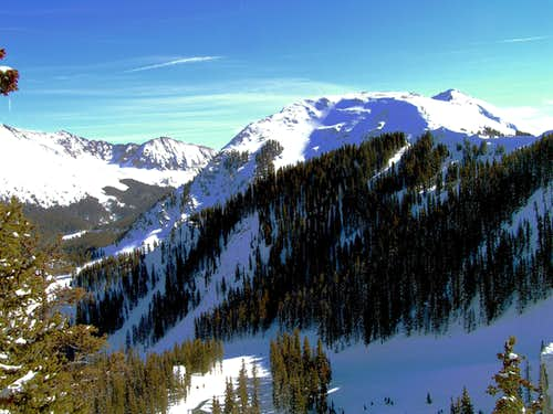 Kachina Peak from top of lift 2