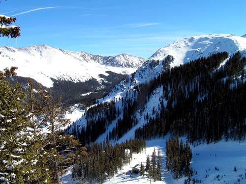 View from Taos Ski Valley
