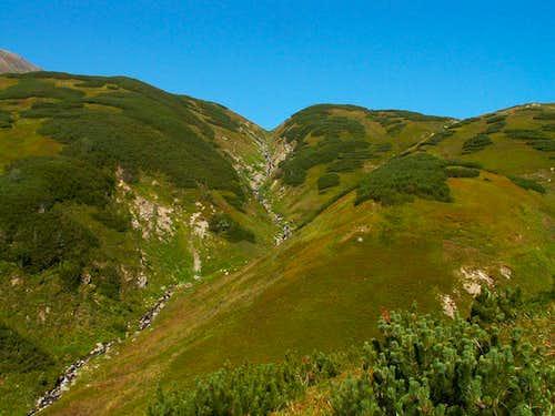 Kamenistá dolina Valley
