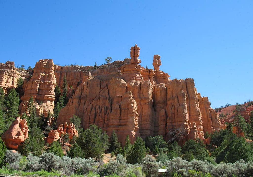 On the way to Bryce