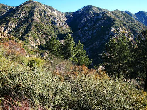 Castle Canyon, San Gabriel Mountains