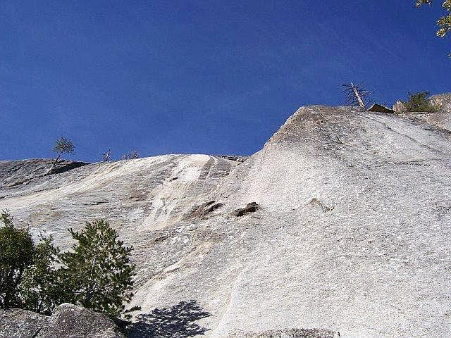 Hikers Route for Suicide Rock