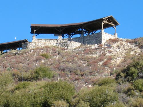 Ramada (Lookout) at Inspiration Point