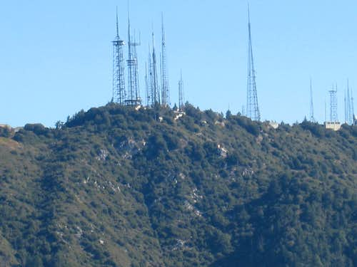 Mt. Wilson (5,715\') from Inspiration Peak