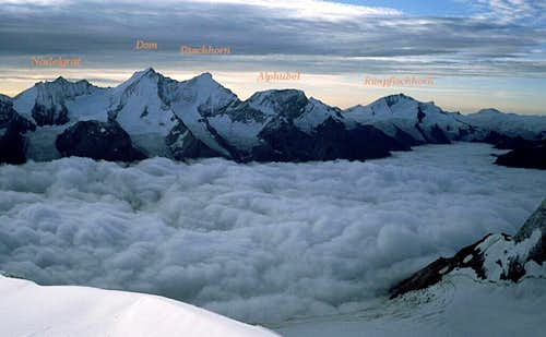 A panoramic view from Bishorn
