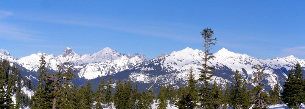 Border Peaks Panorama
