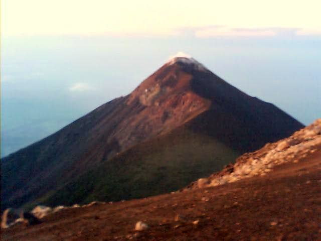 Fuego Volcano from Acatenango