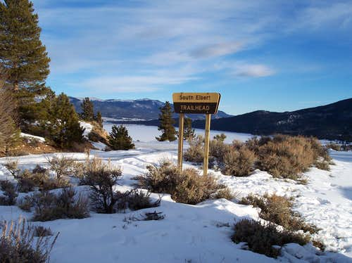 South Elbert Trailhead