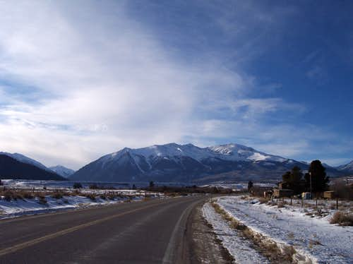 View on Road to Leadville, CO