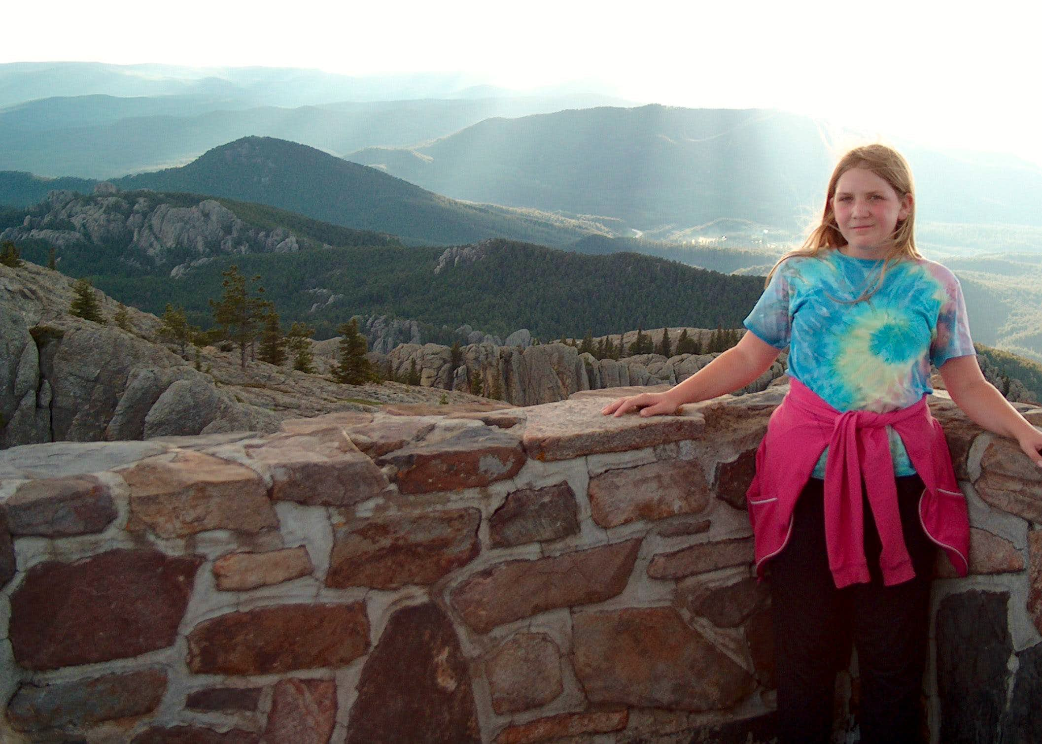 Harney Peak: A Girl\'s First High Point