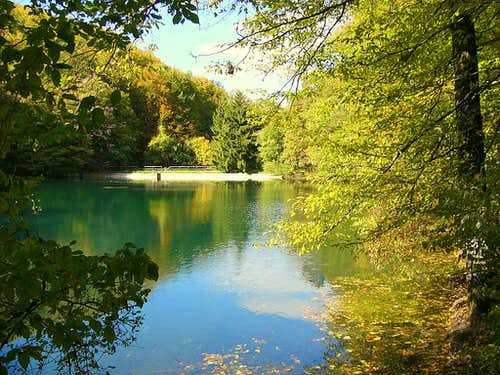 Bükk Mountain Pond