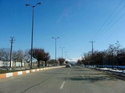 The city of Hamedan