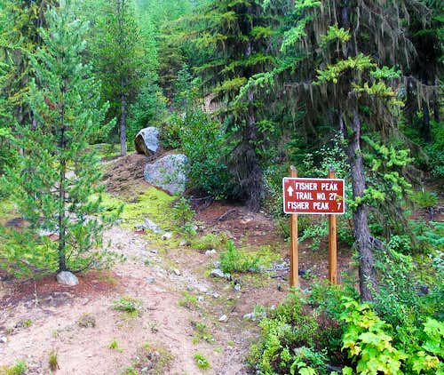 Fisher Lake Trailhead
