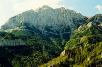 North Face of Pedraforca,...