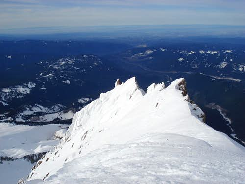 Upper Yokum Ridge - Mount Hood 2/2/07