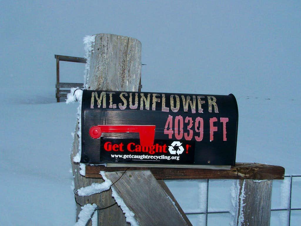 Mt. Sunflower Register