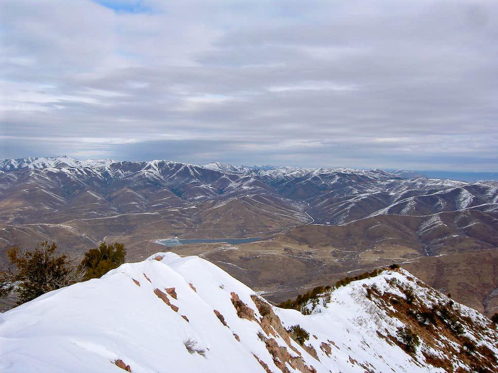 Upper Mountain Dell Reservoir