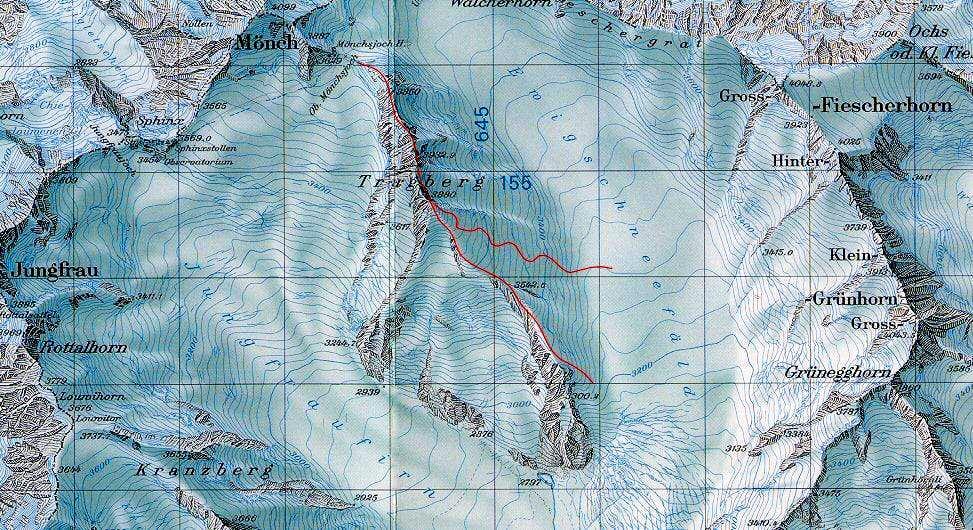Trugberg Map