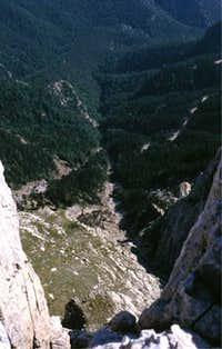 Pedraforca: from the summit...