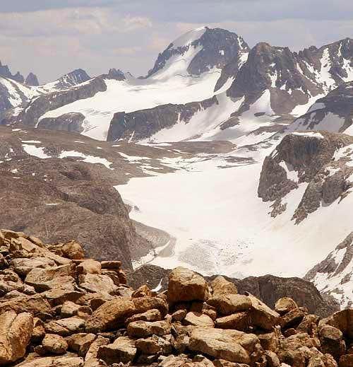Gannett Peak's North Face