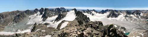 Gannett Peak Panorama