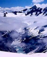 Forbidden Peak, North and...