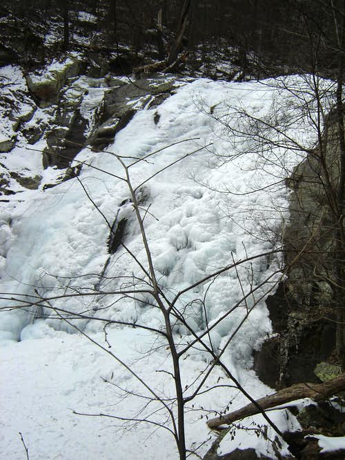 Whiteoak Canyon - Ice Falls