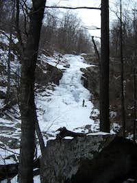 Whiteoak Canyon - Upper Ice Falls