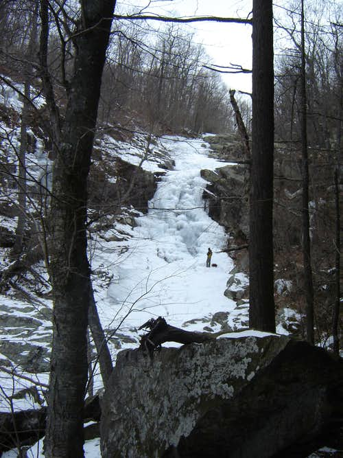 Whiteoak Canyon - Upper Ice Falls