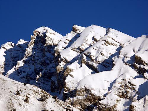 Il versante sud della Grande Rochère (3326 m)