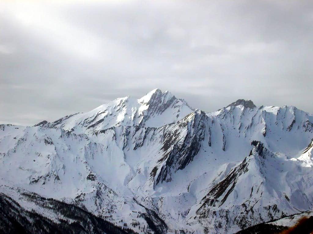 Il versante nord della Grande Rochère