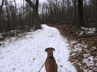 Trail Head of Keyser Run Fire Rd