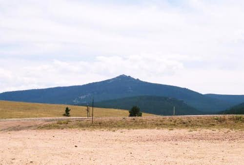 Black Mountain from US 14....