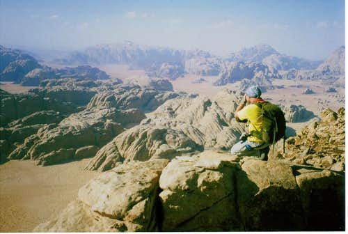 View from Burdah summit