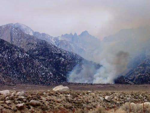 Mt. Whitney Fire