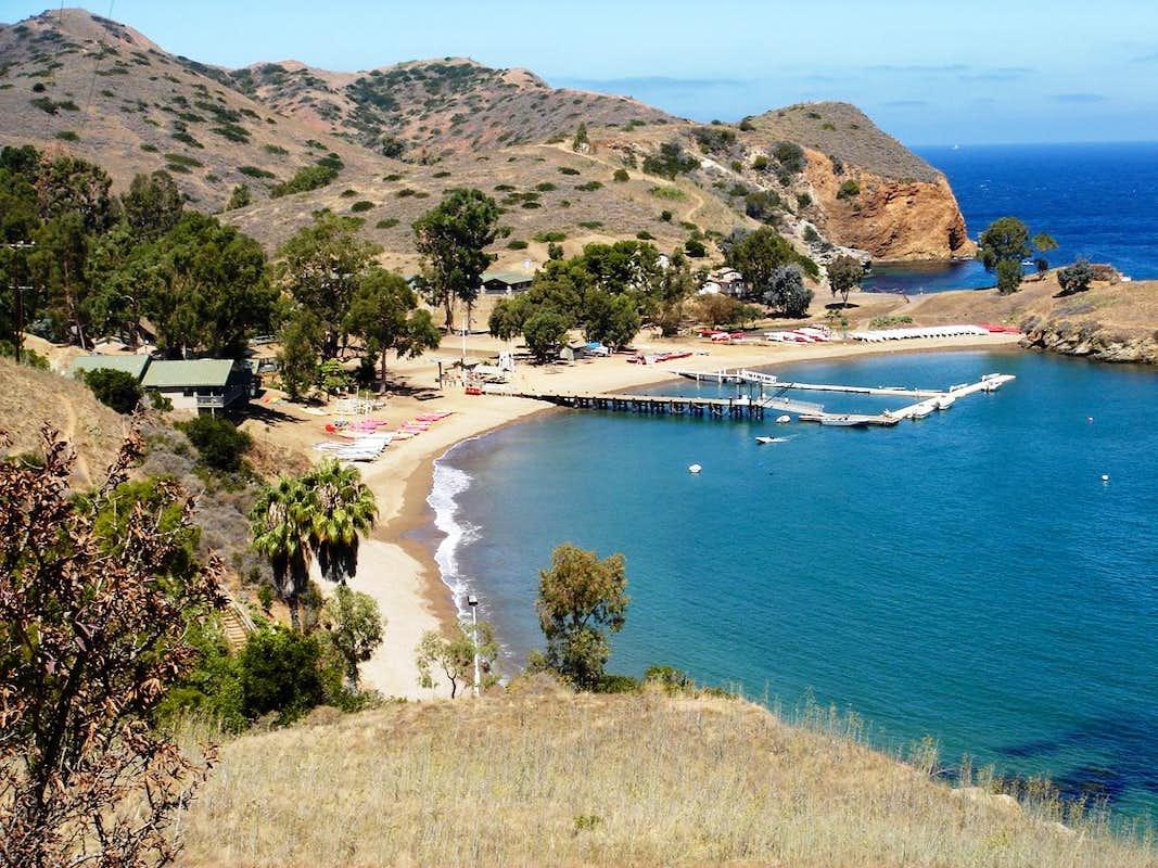 Boy scout camp photos diagrams topos summitpost for Catalina bay