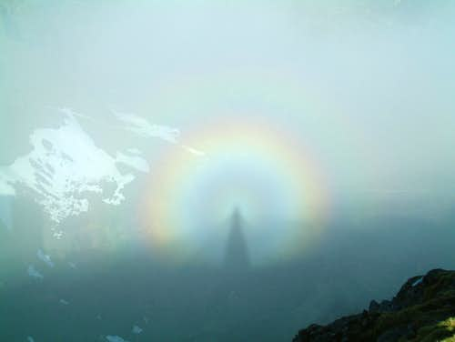 Brocken spectre and glory