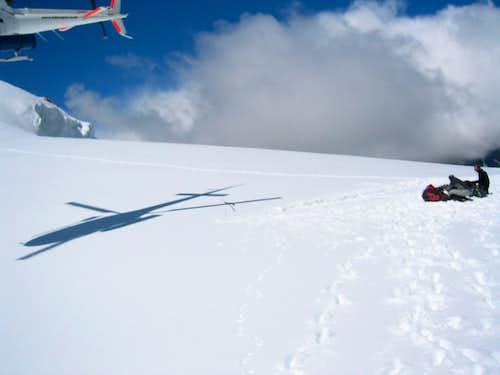 Mt. Cook -  Plateau hut drop off