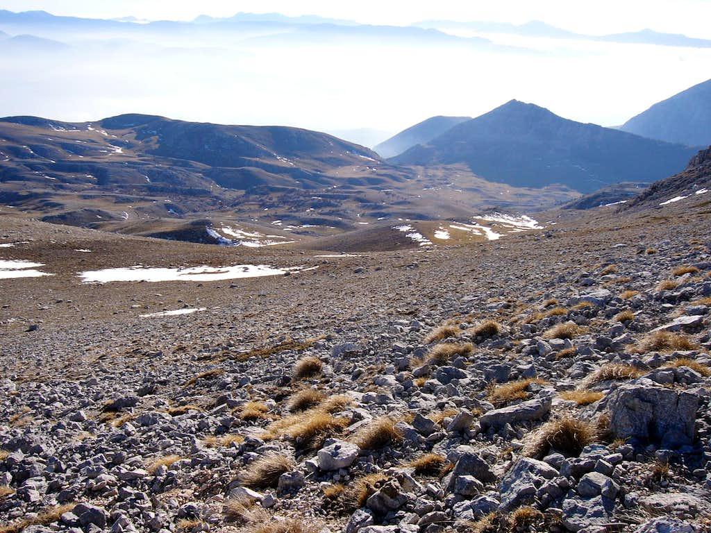 Monte Sirente, S-side