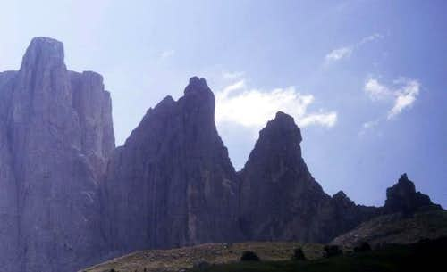 The Sella Towers 1 - 3. The...