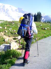 On the way to Mt. Rainier
