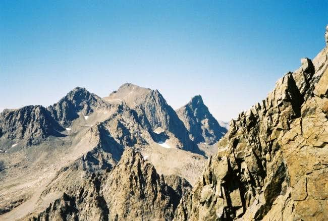 Mount Ritter and Banner Peak,...