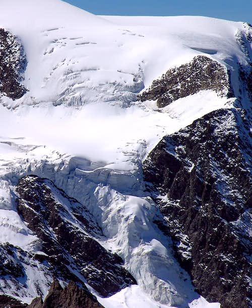 Valsorey Glacier (Mont Vélan)