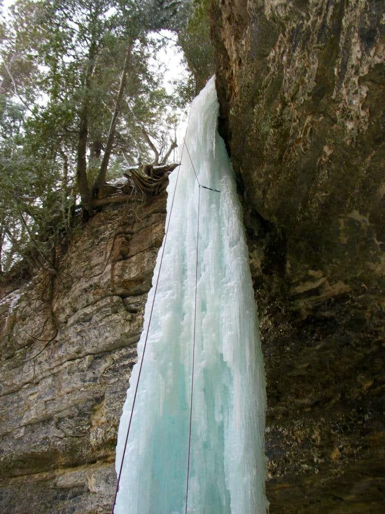 Michigan has Ice Climbing