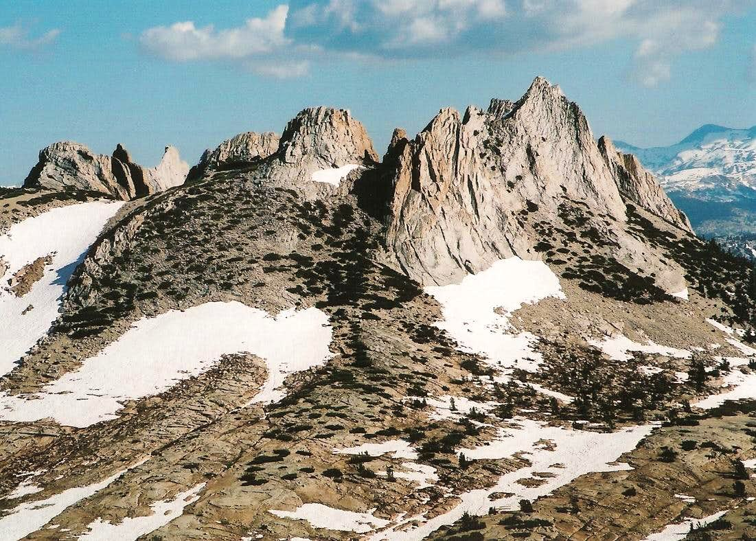 Blood, Pride, and Marmot S**T-- Part I-- Cathedral Peak (Pride)