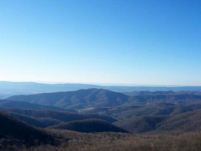 View Southwest from Bearfence Rocks