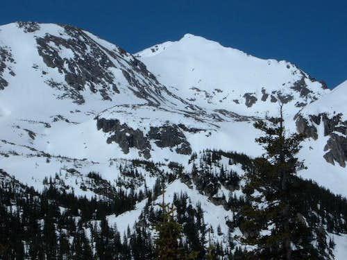 Mount Jasper in May 2005