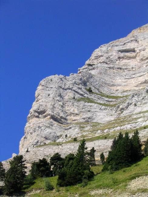 Tobey Pillar on Chamchaude....