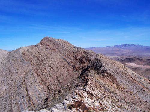A steep edge