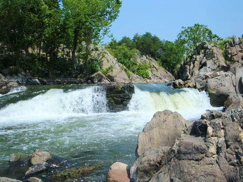 Waterfall on the western edge